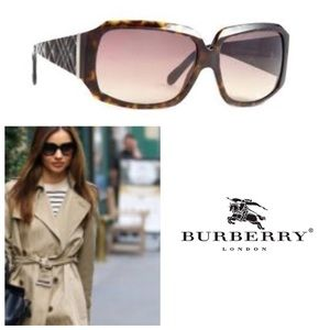 AUTHENTIC!  Burberry 4010 Tortoise Brown sunnies